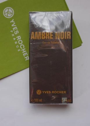 Акция ! ambre noir-100 мл-черная амбра ,  ив роше-yves rocher