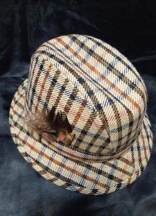 Шляпа daks simpson 1976 винтаж