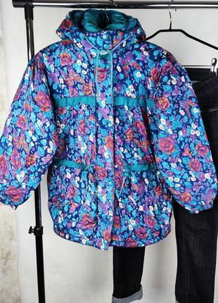 Красивая утепленная куртка парка polar bay корея синтепон