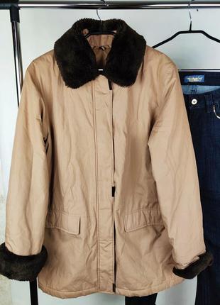 Красивая утепленная легкая куртка пуховик bhs