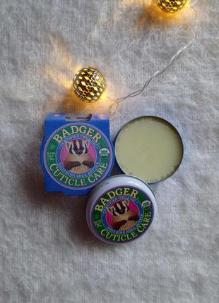 Badger company cuticle care soothing shea butter -- масло для ногтей и кутикулы