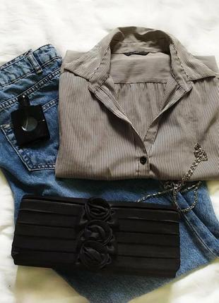 Рубашка  h&m с коротким рукавом