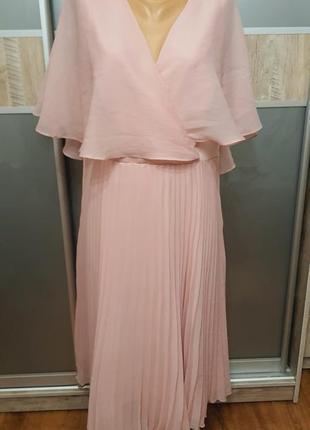 Платье asos плиссе