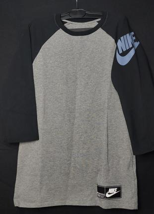 Nike tee athletic cut кофта 3/4