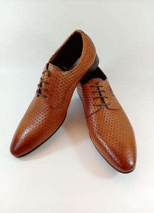 Туфли классика.  кожа, отличное качество. mark barakuda размеры:39,40,41,43,44,45