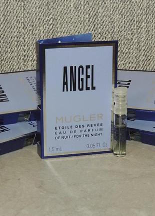 Thierry mugler angel étoile des rêves eau de nuit пробник для женщин оригинал