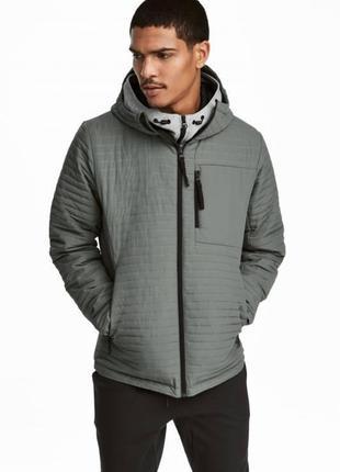 Утепленная куртка h&m sport !