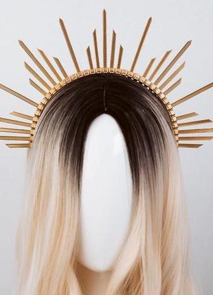 Обруч для волос /лучи