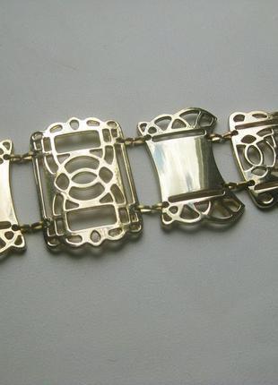 Пояс цепочка zara ремень металлический золотой