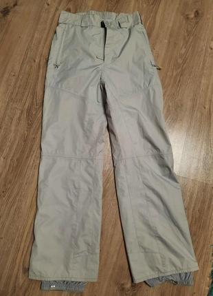 Серые лыжные штаны firefly