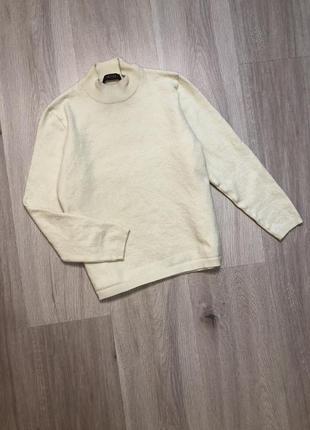 Светр кофта гольф водолазка шерсть пуловер / свитер с шерстью