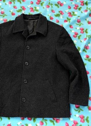 Кашемірове коротке пальто на гудзиках розмір 146 ( 118-хх)