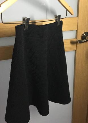 Юбка, юбка-солнце, юбка чёрная, юбка короткая