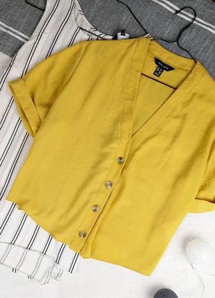 Трендовая кофточка блуза на пуговичках new look