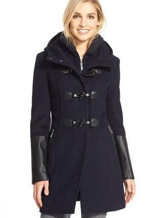 Шерстяное пальто дафлкот bcbg max azria s
