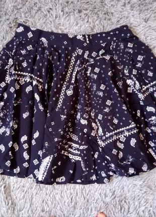 Трендовая юбка с высокой талией h&m