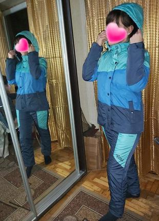 Новый лыжный костюм куртка+штаны! осень-зима-весна. 44 р.