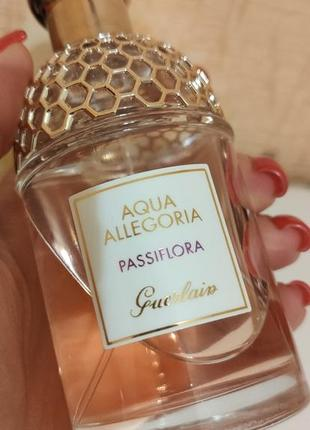 Guerlain aqua allegoria passiflora туалетна вода оригінал, є батч-код