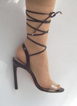 Босоножки на шнуровке, стелька 24 см.