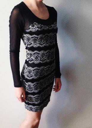 🔝шикарне чорне плаття soky&soka🔝