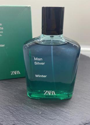 Духи чоловічі man silver winter zara