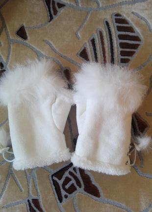 Перчатки митенки