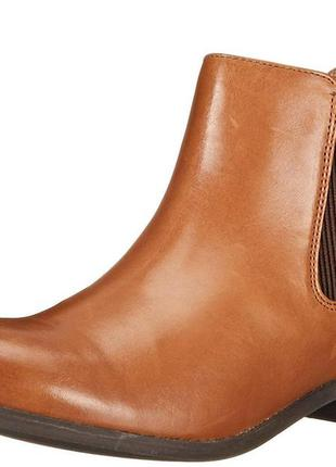 Clarks pita sedona кожаные ботинки размер 37. 5