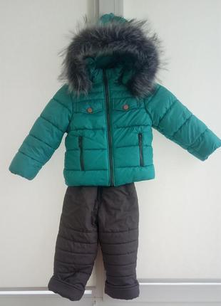 Зимовий костюм куртка і штани