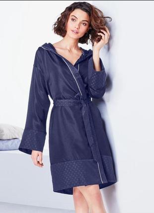 Красивый, легкий халат кимоно, с капюшоном тсм чибо. s