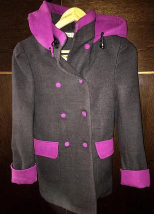 Пальто на девочку до 140 см
