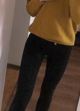 Классические джинсы на низкой посадке