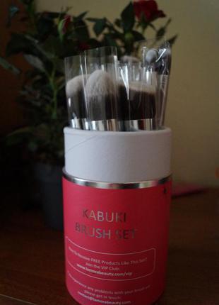 Профессиональный набор кистей для макияжа премиум в тубе кисти кисть макияж