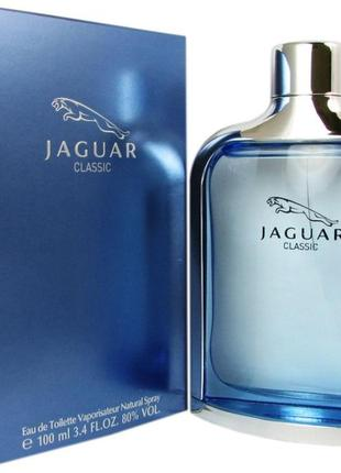 Туалетная вода для мужчин jaguar classic 100 ml
