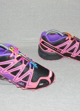 Salomon speedcross 3 кроссовки треккиговые оригинал! р. 39-40 25 см