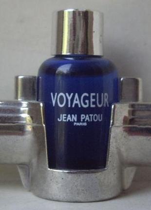 Jean patou voyageur - edt - 5 мл. оригінал. вінтаж.