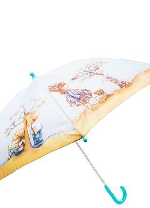 Зонт трость детский полуавтомат lamberti романтика