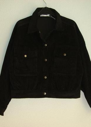 Стильные женские вельветовые пиджаки  pull&bear испания