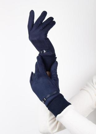 Перчатки с ремешком