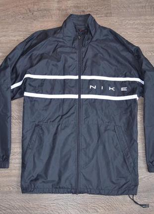 Куртка - ветровка винтажная nike ® vintage jacket (black)