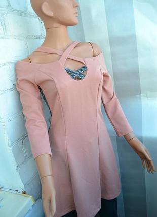 Нарядной платье с переплётами
