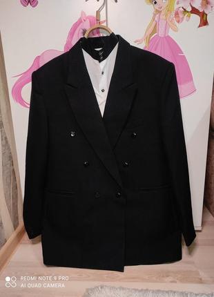 Мужской классический брючный деловой костюм хл-ххл и две рубашки в подарок