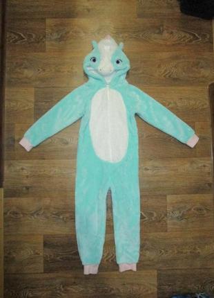 Кенгуру костюм травка теплый пижама george