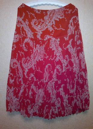 Красивая юбка-гофре