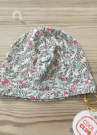 Шикарная шапочка для малышки