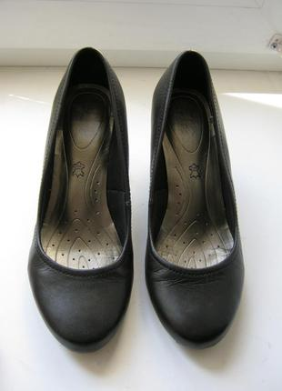 Туфли marks&spencer, 100% натуральная кожа, длина по стельке-24,5см