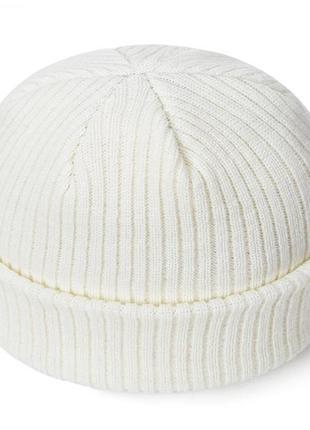 16 шапка короткая вязаная