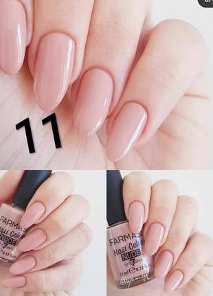 Лак для ногтей farmasi nude 11