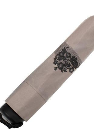 Зонт компактный механический artrain орнамент