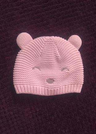 Милая розовая шапочка