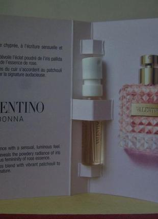 Valentino valentino donna - edp - 1.5 мл. (spray) оригінал.